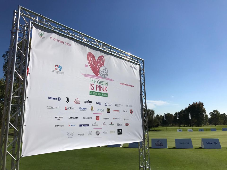 THE GREEN IS PINK 21° Pro-Am della Speranza
